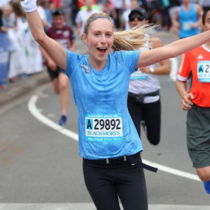 Jenny Tomei Sydney Harbour Bridge Run