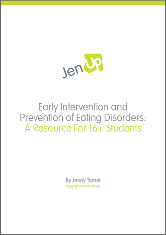 JenUp Early Intervention and Prevention of Eating Disorders